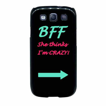 best friend bff couple left samsung galaxy s3 s4 cases