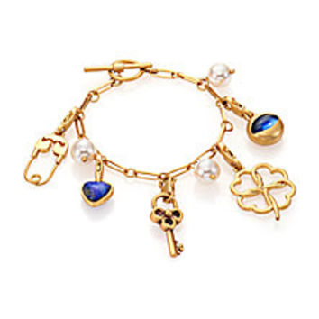 Tory Burch - Charm Bracelet/Goldtone - Saks Fifth Avenue Mobile