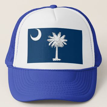 Hat with Flag of South Carolina State - USA