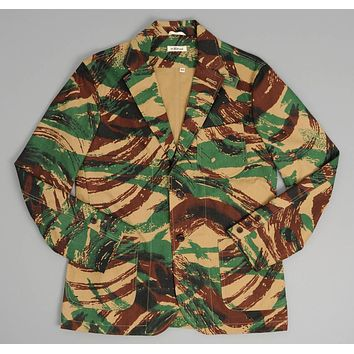 "French ""Lizard"" Camo Tailored Jacket"