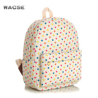 Stylish Fashion Casual Thicken Canvas Backpack = 4887947780