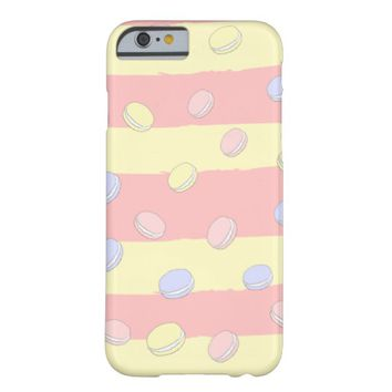 Claire Blossom Sweet macaroon Barely There iPhone 6 Case