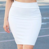 Venus White Skirt