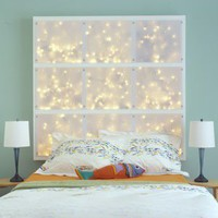 Headboard with lights