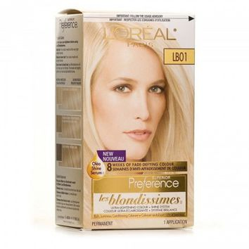 Buy L'Oreal Paris Superior Preference Ultra Light Ash Blonde #LB01 Online in Canada | Free Shipping