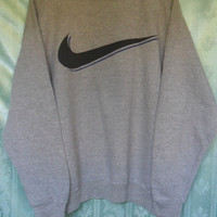 Vintage NIKE Sweatshirts//Big Logo//Size M// Made in USA