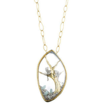 Siyabona Gold Long Panther Reliquary Pendant :: Necklaces :: Jewelry By Category :: Alexis Bittar