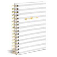 Stripes and Arrows Hard Cover Journal