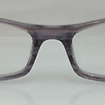 NEW AUTHENTIC GIORGIO ARMANI GA642 COL 32J GREY/PURPLE PLASTIC EYEGLASSES FRAME