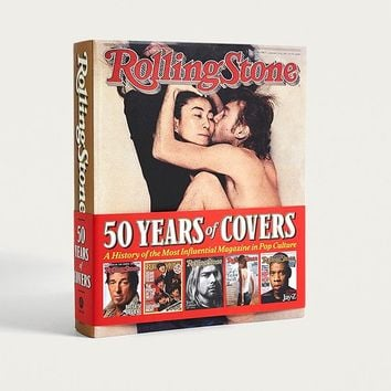 Rolling Stone 50 Years of Covers: A History of the Most Influential Magazine in Pop Culture by Jann Wenner | Urban Outfitters