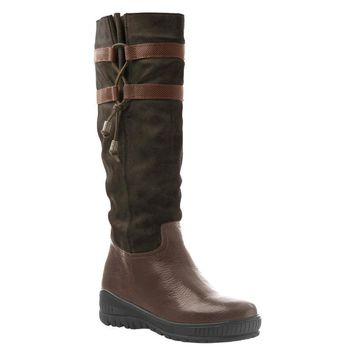 New OTBT Women's Weather Boots Move On in Dark Brown