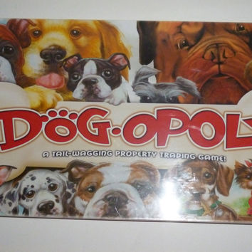 Dogopoly Dogs Monopoly Board Game