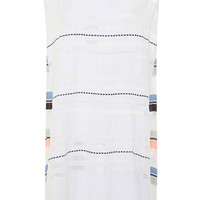 Shoka Paneled Gauze Dress