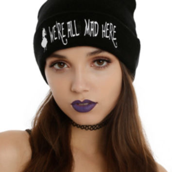 Disney Alice In Wonderland We're All Mad Here Beanie