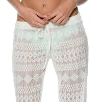 RIP CURL ESCAPE LACE BEACH PANT