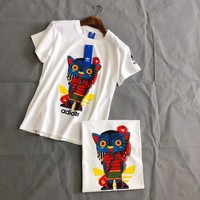 Womens Adidas Avatar Comics Short-sleeved T-shirt