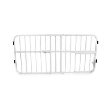 Carlson Extra Tall Tuffy Expandable Pet Gate with Small Door