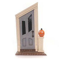 Lori Mitchell Spooky Door Halloween Figurine