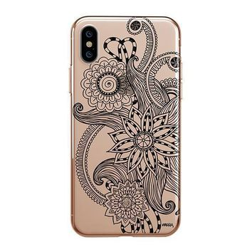 Mehndi Henna - iPhone Clear Case