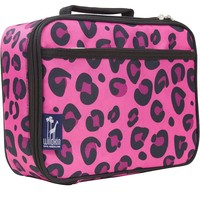 Wildkin Leopard Lunch Box - Kids (Pink)