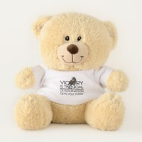 TOP Horse Racing Victory Slogan Teddy Bear