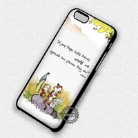 Calvin and Hobbes Cartoon - iPhone 7 6 5 SE Cases & Covers