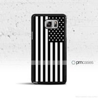 Black & White American Flag Samsung Galaxy S & Note Series
