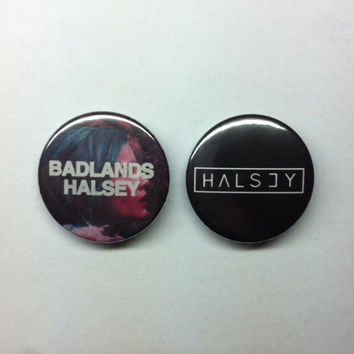 BADLANDS Halsey 32mm Pins