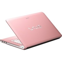 "Sony - VAIO E Series 14"" Laptop - 4GB Memory - 320GB Hard Drive - Seashell Pink"