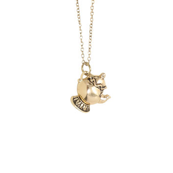 Disney Beauty And The Beast Mrs. Potts Necklace