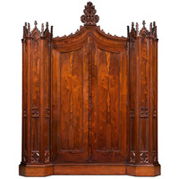 Henry Clay Rosedown Armoire
