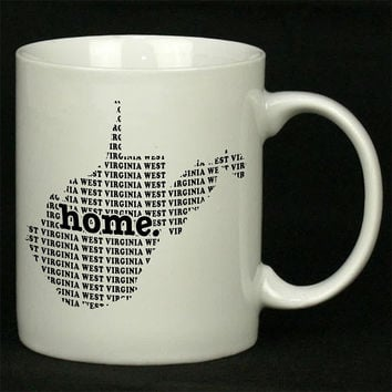 West Virginia Home For Ceramic Mugs Coffee *
