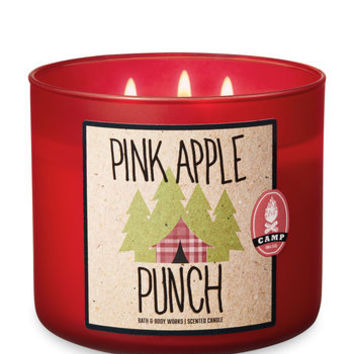 PINK APPLE PUNCH3-Wick Candle