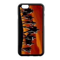 Justice League Silhuete 1 iPhone 6 Case