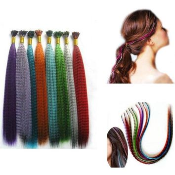 Colorful Extensions Clip Claw Ponytail Cosplay Hair Piece