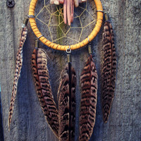 Dream Catcher with Pheasant Feathers