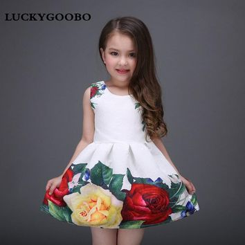 Rose Little Girl Summer Dress