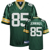Green Bay Packers GREG JENNINGS #85 NFL Mens Replica Jersey, Green (X-Large)
