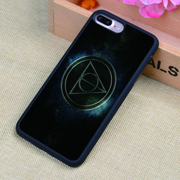 Harry Potter And The Deathly Hallows Printed Soft Rubber Mobile Phone Cases For iPhone 6 6S Plus 7 7 Plus 5 5S 5C SE 4 4S Shell