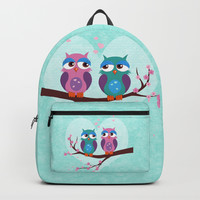 Love owls Backpack by edrawings38