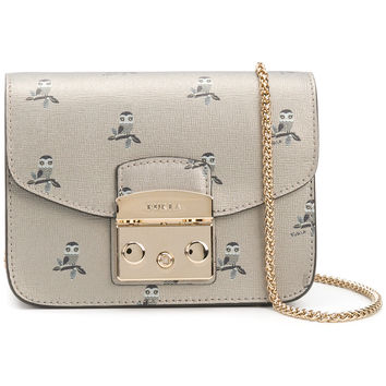 Furla Owl Patterned Metropolis Bag - Farfetch
