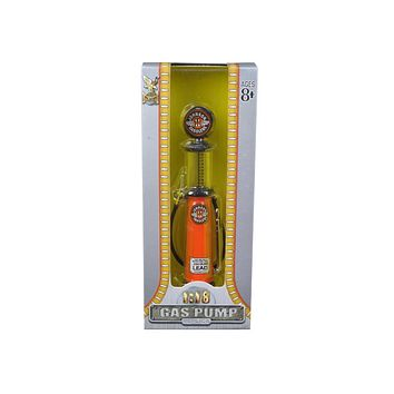 Johnson Gasoline Vintage Gas Pump Cylinder 1:18 Diecast Replica
