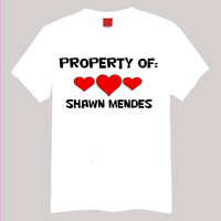 Property of Shawn Mendes-2 XL Short Sleeve TShirt