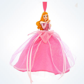 disney parks christmas sleeping beauty aurora tulle ornament new with tag