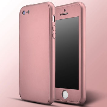 Luxury Slim  Metal Plating Case For Apple iPhone 5 5S SE