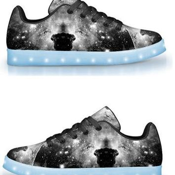 ET Black Out - APP Controlled Low Top LED Shoes