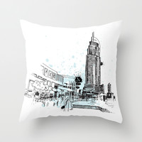 Dubai Throw Pillow by EnginKorkmaz