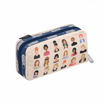 Rectangular Cosmetic Hello, Gorgeous by LeSportsac   Imported