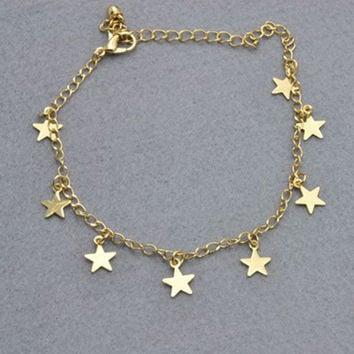 Cute Shiny Stylish New Arrival Gift Ladies Sexy Jewelry Bracelet Bangle Korean Accessory Hot Sale Anklet(With Thanksgiving&Christmas Gift Box) [6768752775]