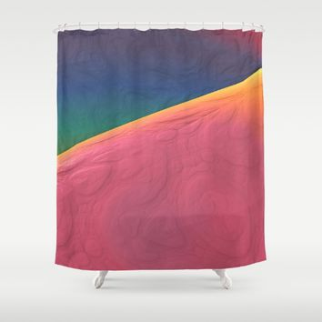 Planet X Shower Curtain by Lyle Hatch